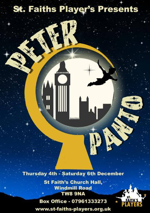 Peter Panto Flyer Front