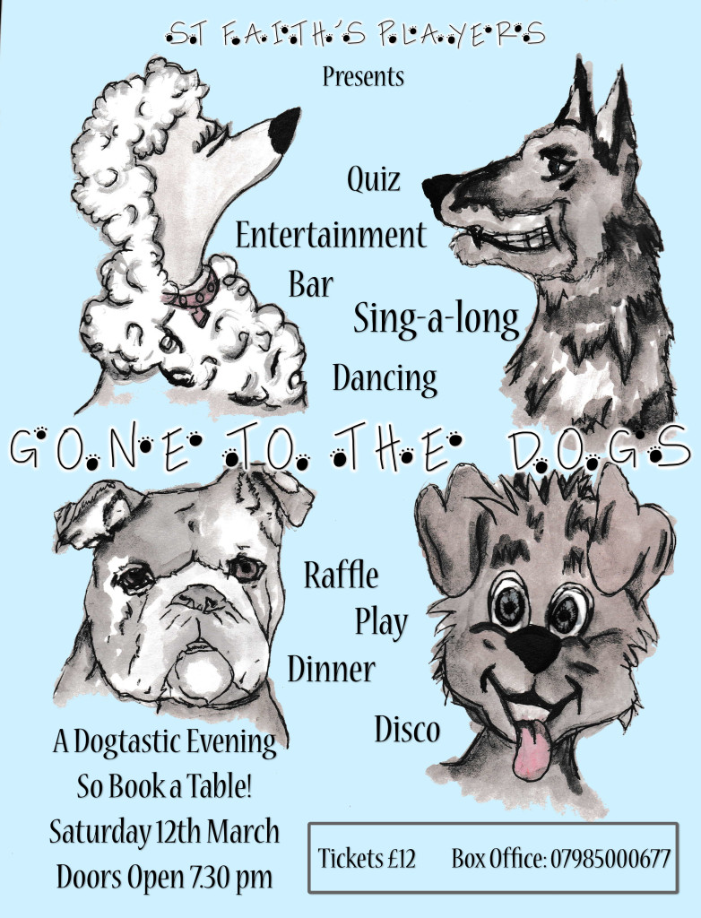 Gone to the dogs flyer
